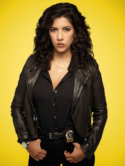 BROOKLYN NINE-NINE: Stephanie Beatriz as Detective Rosa Diaz. BROOKLYN NINE-NINE Season Five premieres Tuesday, Sept. 26 (9:30-10:00 PM ET/PT) on FOX. ©2017 Fox Broadcasting Co. CR: Robert Trachtenberg/FO